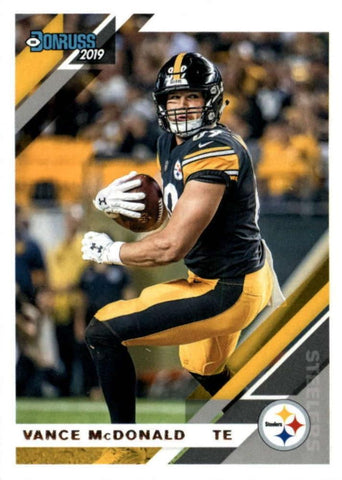 Vance McDonald 2019 Donruss Football 48 Card Lot Pittsburgh Steelers #215