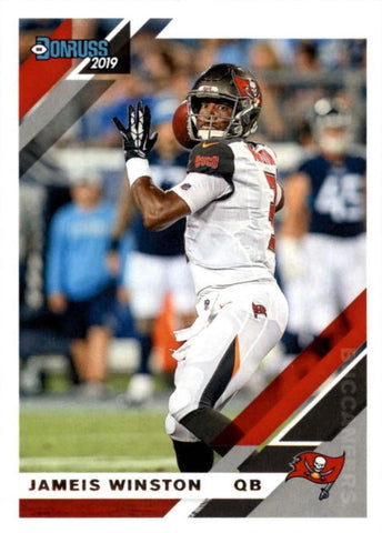 Jameis Winston 2019 Donruss Football 48 Card Lot Tampa Bay Buccaneers #235