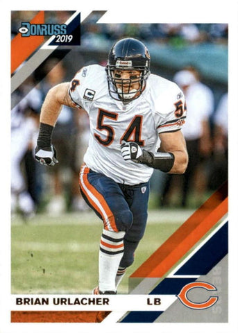 Brian Urlacher 2019 Donruss Football 48 Card Lot Chicago Bears #56