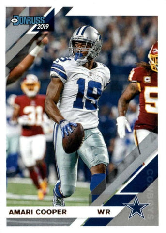Amari Cooper 2019 Donruss Football 48 Card Lot Dallas Cowboys #77