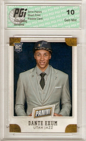 Dante Exum 2014 Panini National VIP #5 NBA Draft Rookie Card PGI 10