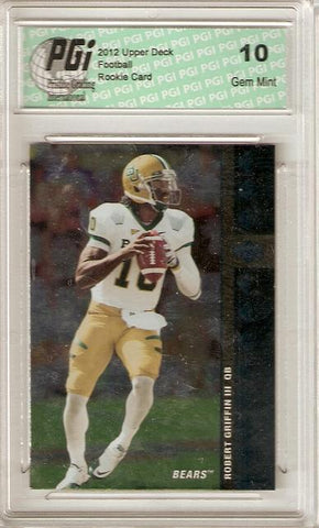 Robert Griffin 2012 Upper Deck SP Authentic 1994 SP Rookie Card PGI 10