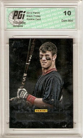 Bryce Harper 2012 Panini Black Friday #17 Redemption Rookie Card PGI 10