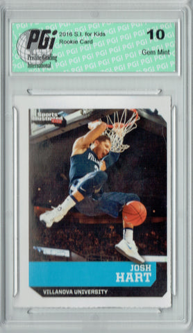 Josh Hart 2016 S.I. for Kids #559 Villanova Rookie Card PGI 10