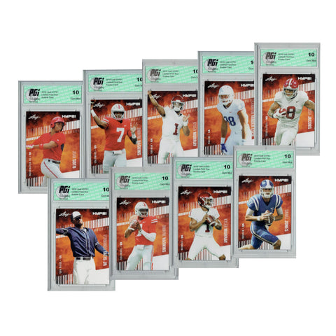 Leaf Hype Series 2 2019 MLB & NFL 9-Ct Rookie Card Bundle Only 5000 Made PGI 10