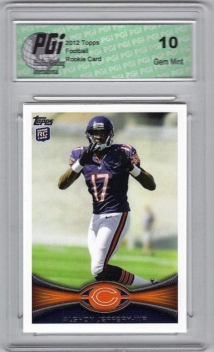 Alshon Jeffery 2012 Topps Football #18 Rookie Card PGI 10
