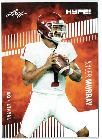 Kyler Murray 2019 Leaf HYPE! #22A Football 25 Rookie Card Lot Arizona Cardinals