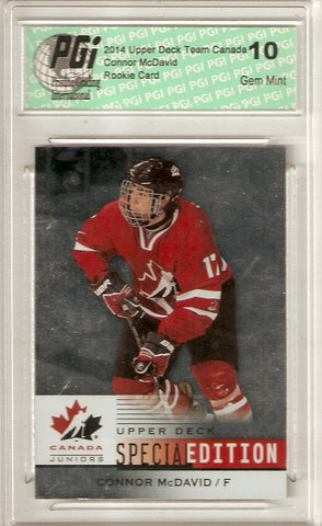 2014 Upper Deck Team Canada Rookie Card Foil Special Edition #SE-11 Connor Mc