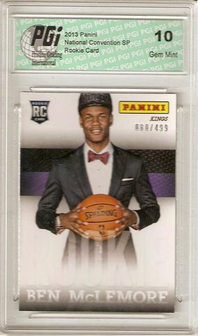 Ben McLemore 2013 Panini National Convention Only 499 Made Rookie Card PGI 10