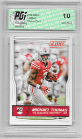 Michael Thomas 2016 Score #362 Rookie Card PGI 10