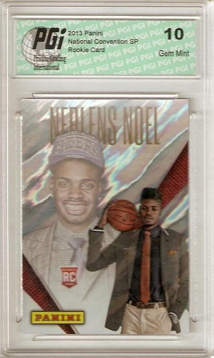 Nerlens Noel 2013 Panini National Convention Lava SP Rookie Card PGI 10