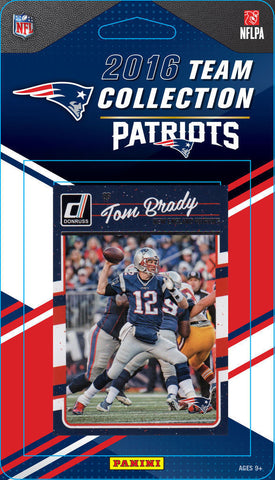 New England Patriots 2016 Donruss Team Set w Tom Brady Gronkowski