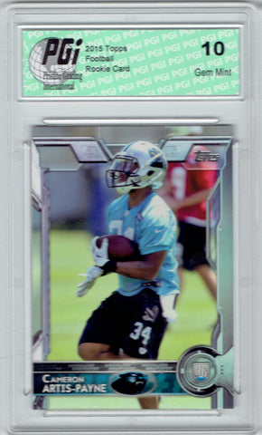 Cameron Artis-Payne  2015 Topps Football #464 Carolina Panthers Rookie Card PGI 10