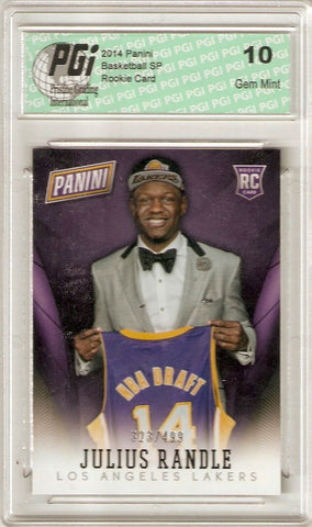 Julius Randle 2014 Panini National Convention Only 499 Made Rookie Card PGI 10