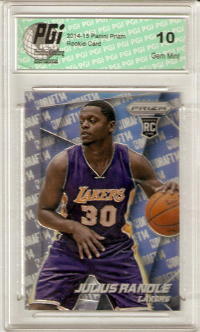 2014 Panini Prizm Rookie Card Photo Variation #37 Julius Randle PGI 10