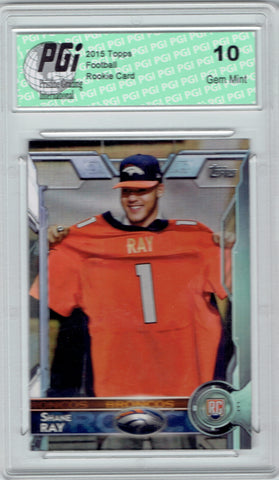 Shane Ray 2015 Topps Football #475 Denver Broncos Rookie Card PGI 10
