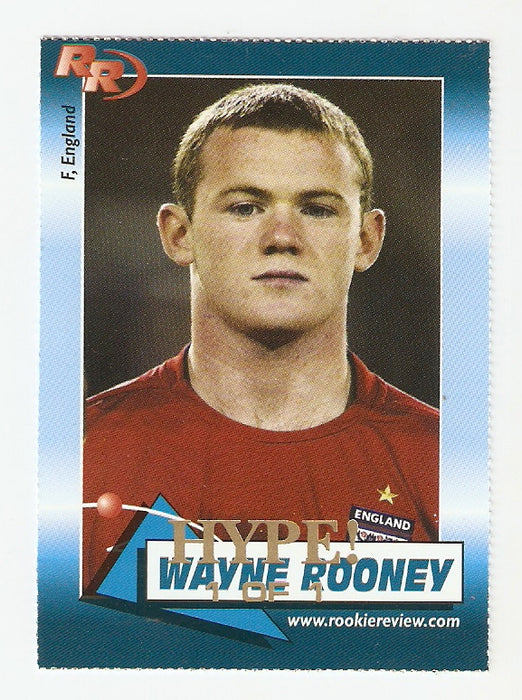 Wayne Rooney 2004 Rookie Review #97 HYPE 1/1 Manchester United Eng. Rookie Card