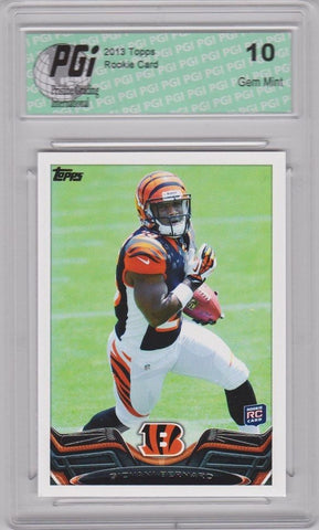 2013 Topps Football #358 Giovani Bernard RC Bengals Rookie Card PGI 10