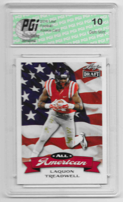 Laquon Treadwell 2016 All-American Leaf Draft #AA09 Rookie Card PGI 10