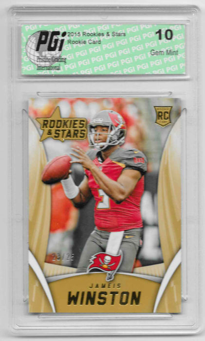 Jameis Winston 2015 Panini Rookies & Stars #103 Rookie Card Only 25 Made
