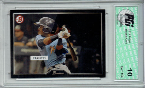 Wander Franco 2019 Topps #4 55 Bowman SP 2500 Made Rookie Card PGI 10