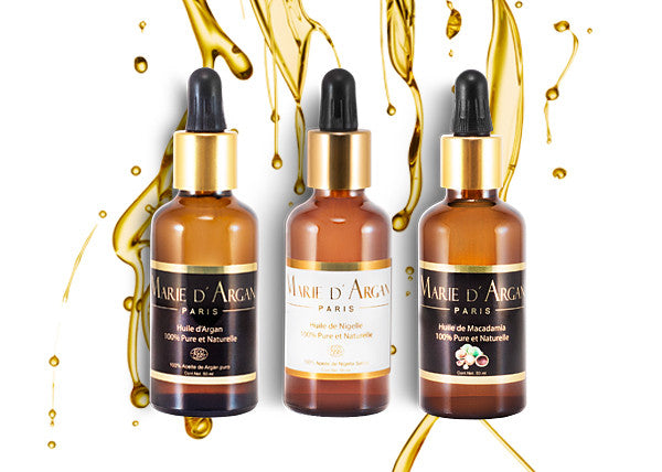 Natural And Organic Oils - Argon Oil - Nigella Oil - Macadamia Oil  | Marie D Argan Usa
