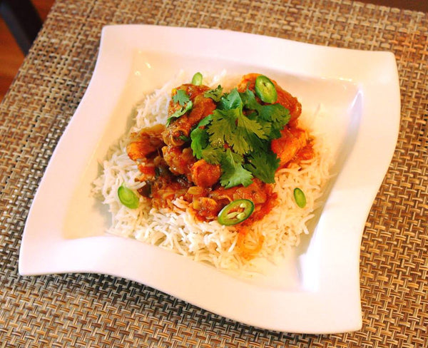 Fijian Style Chicken Curry With Baklouti Old Town Olive
