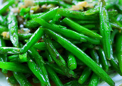 Green Beans with Almonds and Herbes de Provence Olive Oil