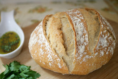Olive Oil and Herb Crockpot Bread