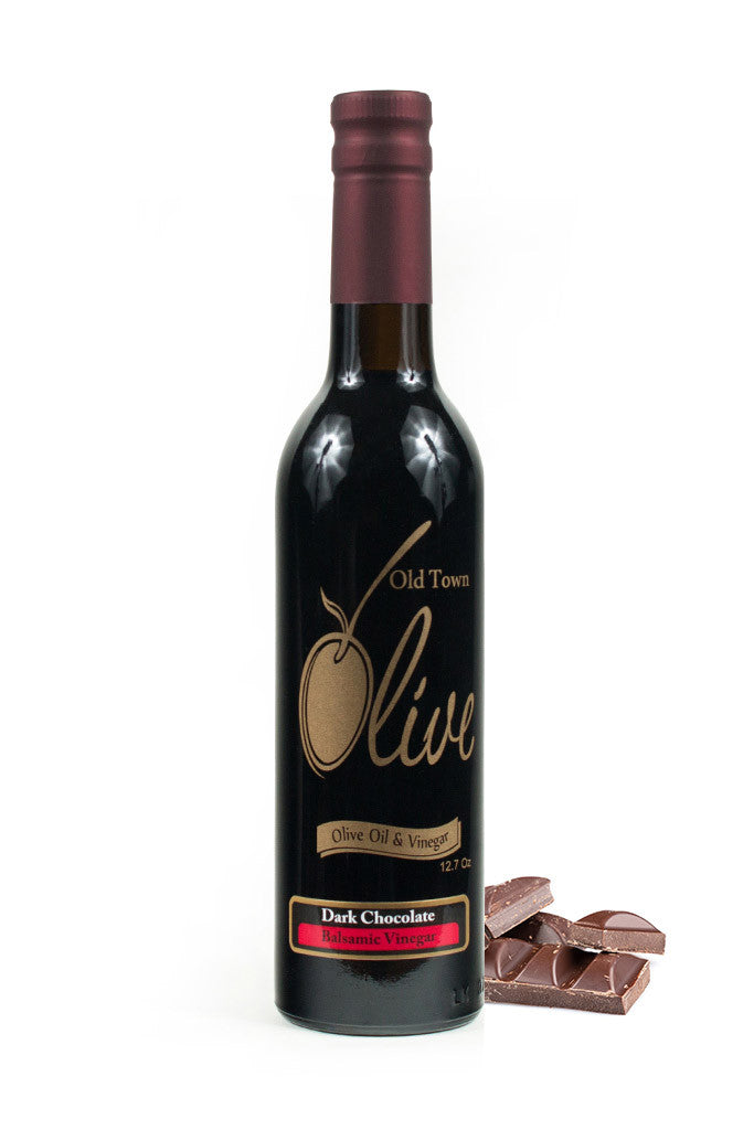Aged Dark Chocolate Dark Balsamic Vinegar Condimento