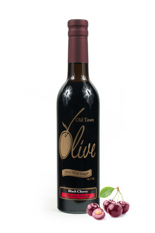 Black Cherry Dark Balsamic Vinegar Condimento