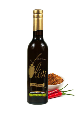 Cayenne Chile Pepper Fused Olive Oil