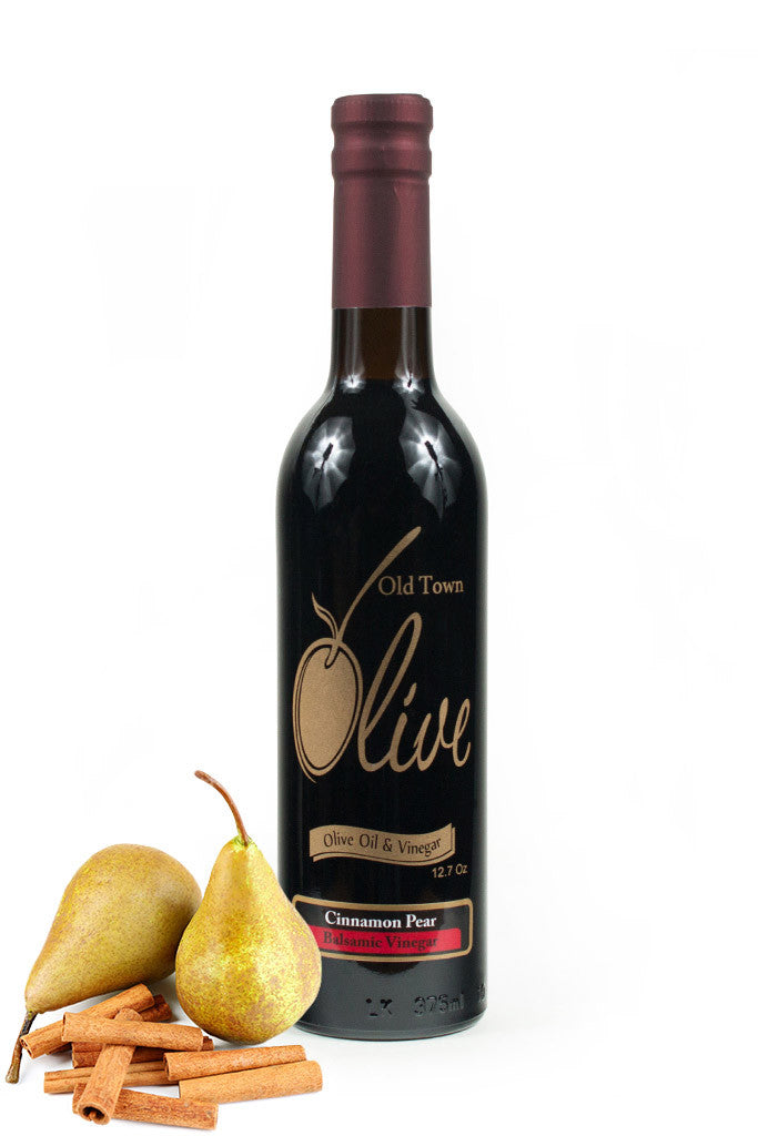 Cinnamon-Pear Dark Balsamic Condimento