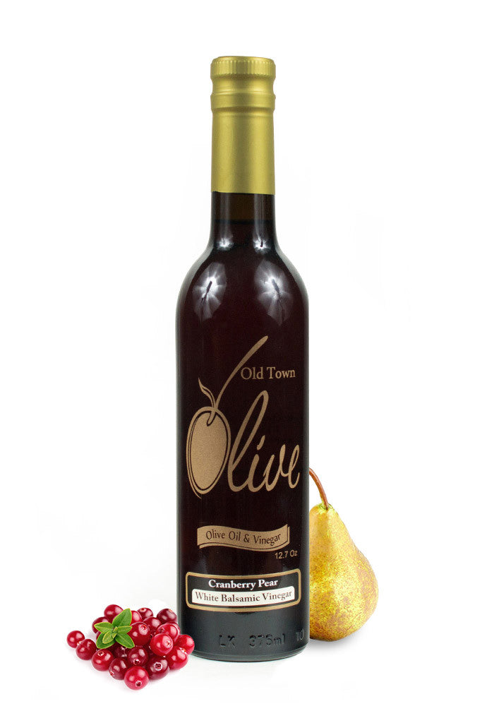 Cranberry-Pear White Balsamic Vinegar  Condimento