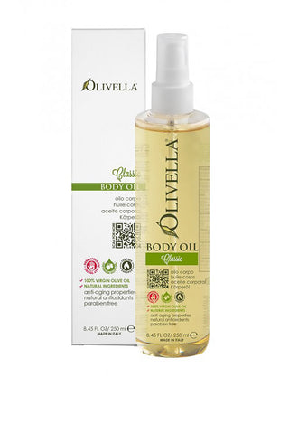 Olivella Body Oil 250ml - Classic (Tea Tree/Red Thyme)