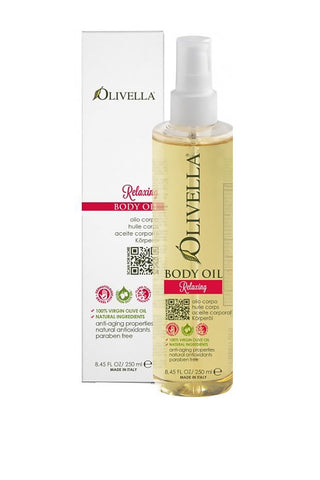 Olivella Body Oil 250ml - Relaxing (Ylang Ylang)
