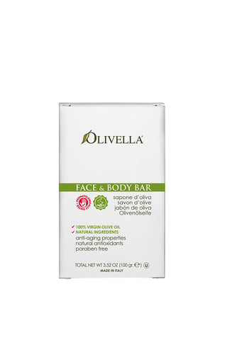 Olivella Face & Body Bar Soap 100g  - Classic