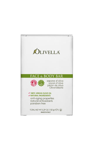 Olivella Face & Body Bar Soap 150g  - Classic