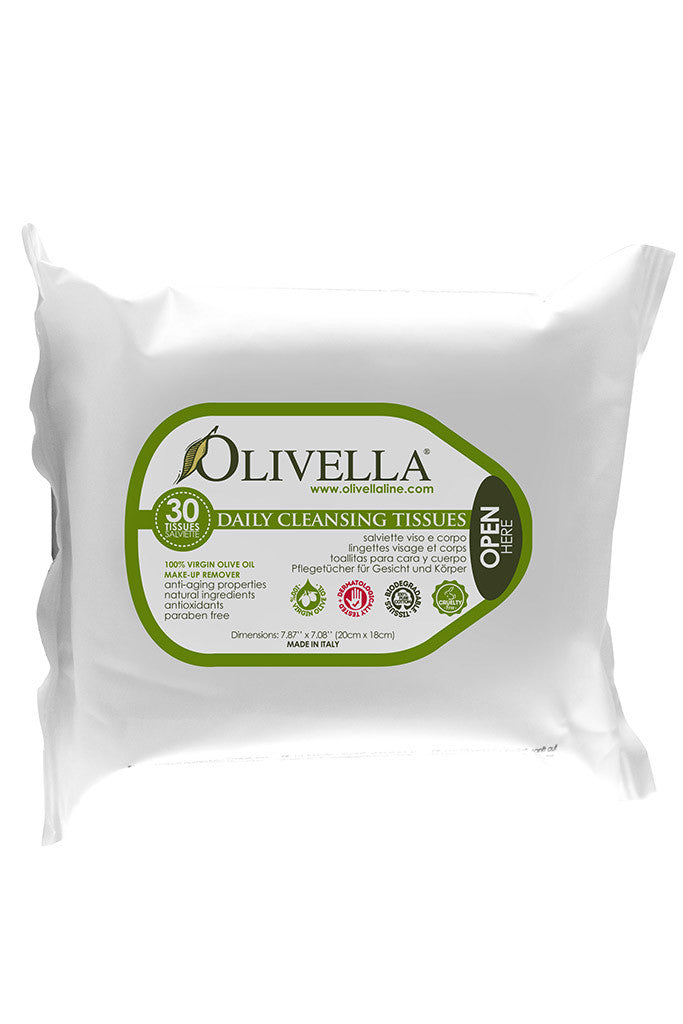 Olivella Face and Body Cleaning Tissues