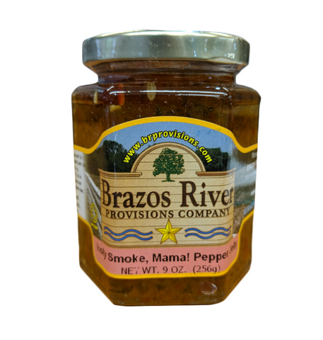 Holy Smoke, Mama! Pepper Jelly