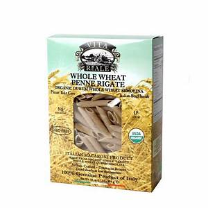 Vita Reale Whole Wheat Penne Rigate Pasta