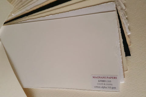 Litho Printmaking Paper Smooth White 310 gsm 50 x 70 cm