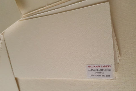 Acquerello 100% cotton Watercolour Paper 550 gsm 56 x 76 cm