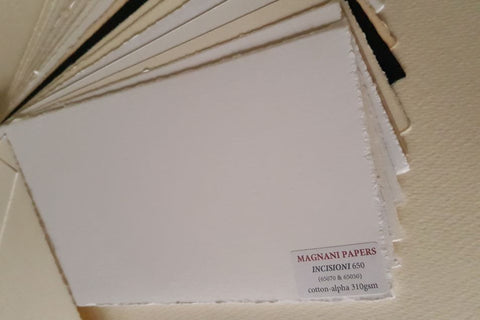 Incisioni Printmaking Paper Smooth White 310 gsm 70 x 100 cm