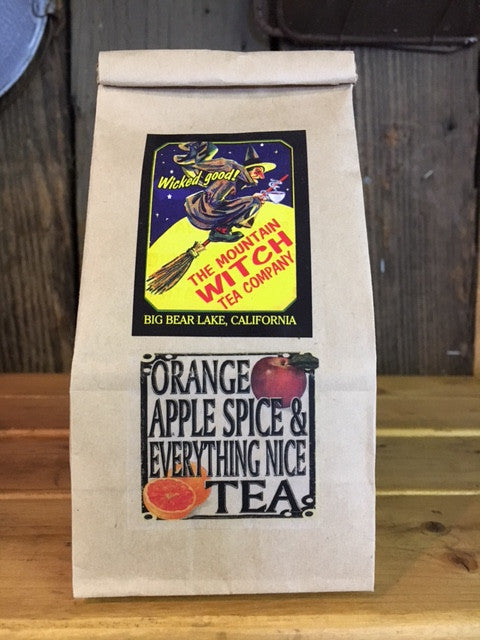 Orange Apple Spice With Everything Nice Tea