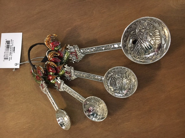 Measuring Spoon Set - Rooster