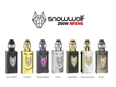 SnowWolf MFeng Limited Edition 200W Kit