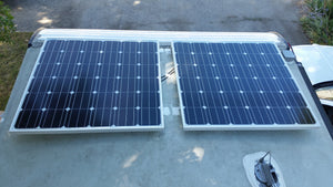 customer installed solar panels