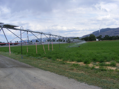 Irrigation Pivot with Solar Powered Motion