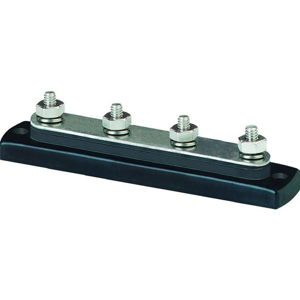 "Common BusBar 150A with Four 1/4"" Terminal Studs"